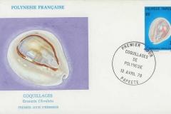 Polynesie Francaise 1978 Cypraea obvelata