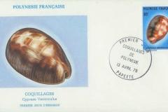 Polynesie Francaise 1978 Cypraea ventriculus