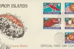 Solomon Islands 1990 Cypraea valentia etc
