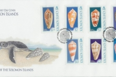 Solomon Islands 2006 Conus canonicus etc.