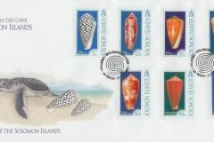 Solomon Islands 2006 Conus marmoreus etc.