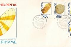 Suriname 1984 Arca Tellina Trachycardium