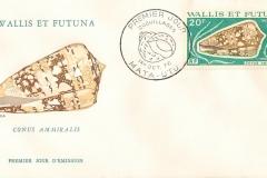 Wallis et Futuna 1976 Conus ammiralis