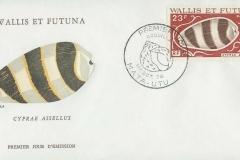 Wallis et Futuna 1976 Cypraea assellus