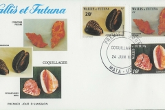 Wallis et Futuna 1987 Cymatium mauritiana rufa