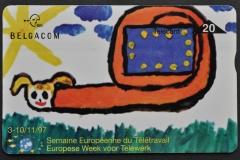 Belgium 1997 Snail drawing 347