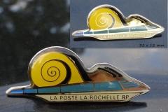 Snail, La Poste la Rochelle RP
