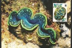 Niue 2002 Tridacna maxima 830
