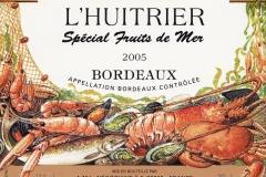 Wine, Bordeaux, Special Fruits de Mer, France 2005