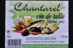 Wine, Chantarel, France