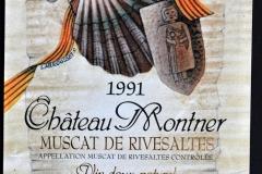 Wine, Chateau Montner, 1991, Saint-Jacques, France