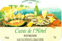 Wine, Cuvée de Hotel, France