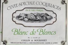 Wine Cuvee Speciale Coquillages