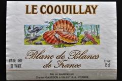 Wine, France, Le Coquillay, Blanc de Blancs