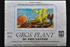 Wine, Gros Plant du Pays Nantais, France