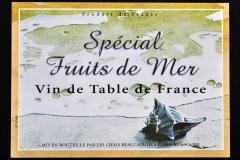 Wine, Spécial Fruit de Mer, Busycon, France