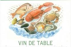 Wine, Spécial Fruit de Mer, France, Vine Blanc Sec