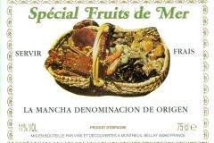 Wine, Special Fruit de Mer, La Mancha Denominacion de Origen, France